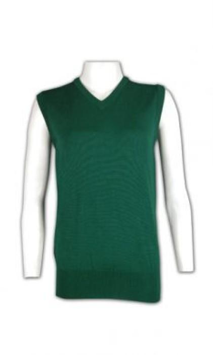 LBX015 訂造校服冷背心 V領純色冷背心 羊毛冷背心 冷背心公司