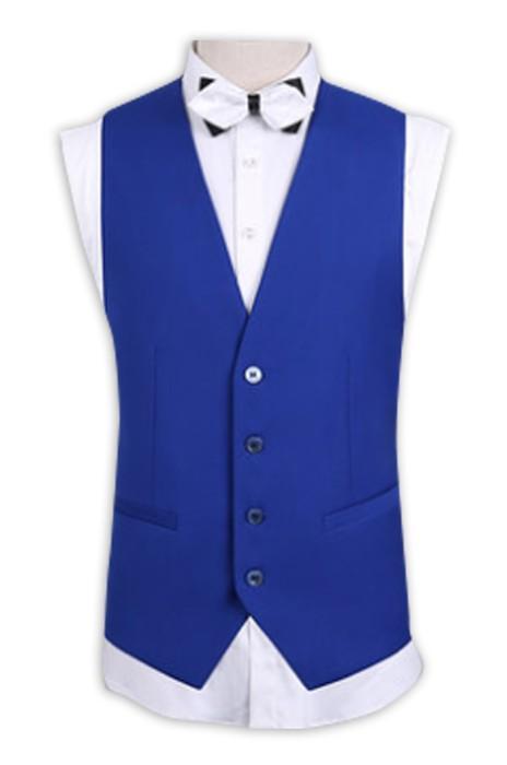 WC010 訂購男士西裝馬甲 設計修身西服馬夾背心  網上下單背心馬甲 西裝背心供應商