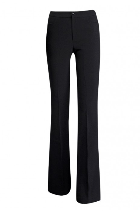 WMT003 訂購黑色工作褲 女正裝西褲 女職業裝褲子 女夏薄款長褲  時尚修身 緊身剪裁款