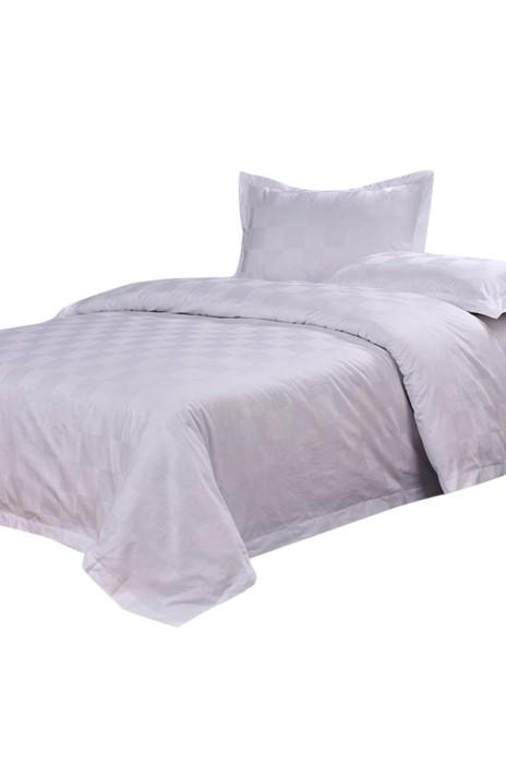 SKBD012  酒店賓館床上用品四件套  床單床笠 網上下單酒店床上用品  酒店布草  床套 被套 100cm 120cm 150cm 180cm 200cm