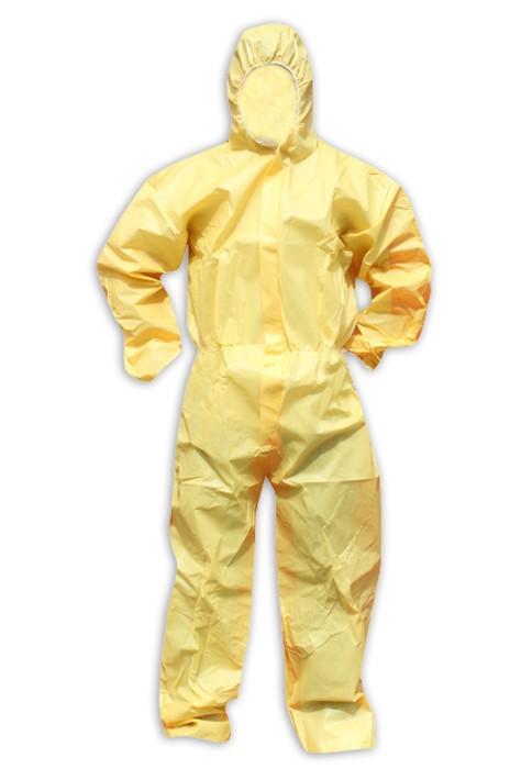 SKWK019  防塵服 勞保連體戴帽工作服 防濺防油無塵服 噴漆農藥打磨防護防化工作服