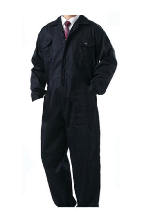 SKWK020  全棉長袖連體服 男女工作服 防塵汽修美容噴漆工程服 透氣防護服