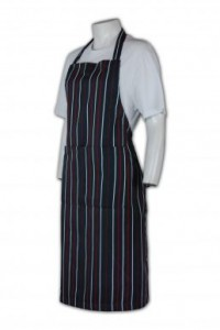 AP042 條紋圍裙定做 條紋圍裙批發 條紋圍裙設計