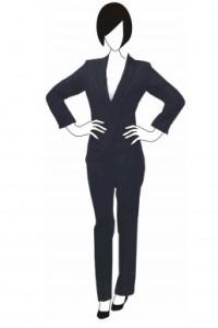 BS076 訂做女西裝外套 經典商務套裝款式 西裝套裝設計選擇 西裝專門店