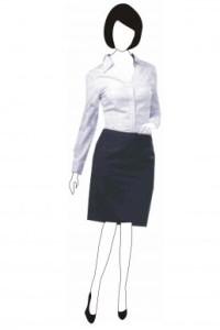 BS083 西裝恤衫定制 修身中裙套裝設計選擇 套裝搭配 套裝專門店