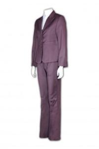 BSW249 訂做女西裝套裝 活動套裝款式 個性西裝度身訂製 西裝廠家