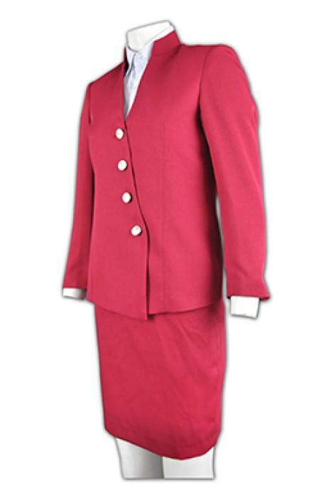 BWS050西裝訂造 行政套裝款式 上班套裝 西裝在線訂購 西裝生產商