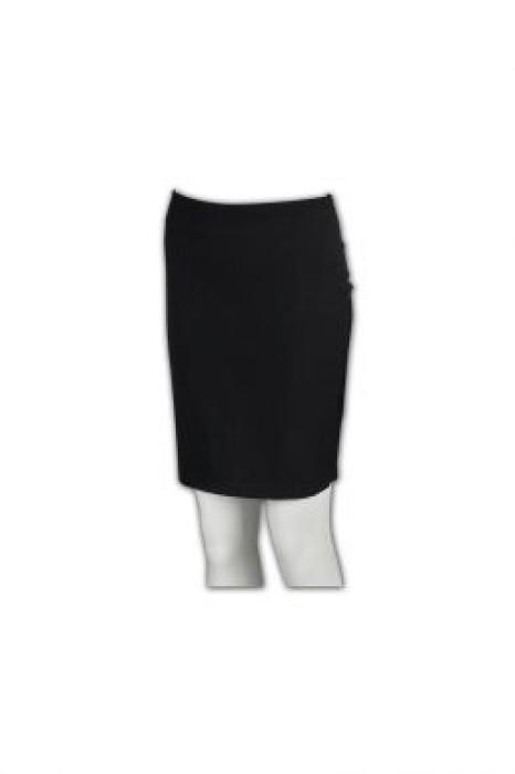 BWS052  訂做西裙  團購專業套裝裙 修身半裙款式 網上訂購西裝裙 西裝裙專門店