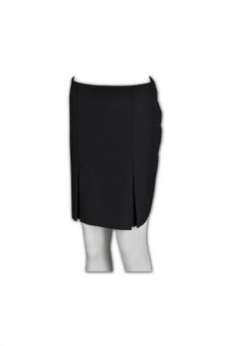 BWS053 訂購西裝半裙 度身訂製團褶式半裙 定制西裙 供應商批發