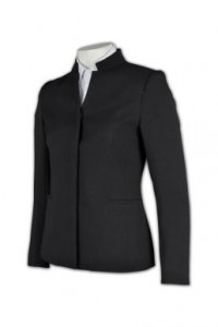 BWS056 订制女西裝外套 立領西裝設計 修身女西裝 西裝專門店