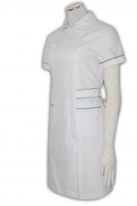 NU001 診所制服供應訂購 團體護士服 裙裝護士制服 護士制服公司