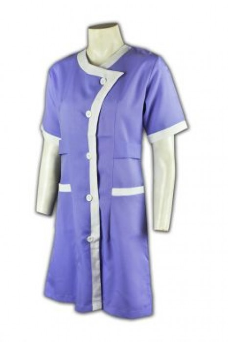 NU013 團體訂購制服款式  訂製診所制服中心  護士裙制服 護士制服供應商