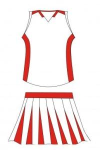 CH017 latest design cheerleaders wear