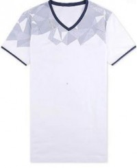 FA121 V領 印tee專門店 自定班衫 香港製造teeshirt T恤香港製造