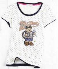 FA159 包邊印花T 訂製 波點繡花卡通T恤 可愛風格T恤 T恤專門店
