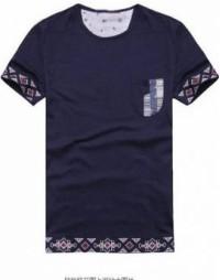 FA174 假兩件T恤 訂製 撞邊T恤款式 T恤設計 T恤專門店