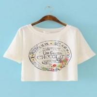 FA252 短身女T 訂購 清新風格印TEE T恤選擇 T恤專門店