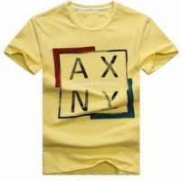 FA257 鮮色棉TEE 訂做 簡約字母印花T 專營T恤公司