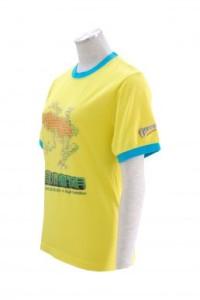 T172 t恤燙畫 t-shirts design  量身訂造圓領T恤  印製logo圖案公司