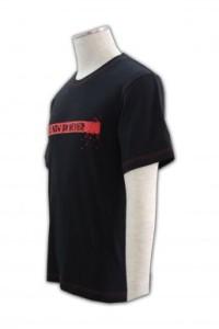 T176  印製t-shirt   團體訂購班衫  設計T恤款式  tee供應商