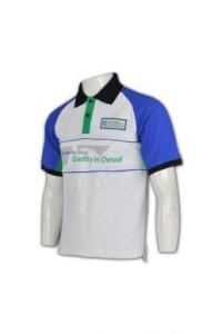 P416  polo衫團體制服訂造  男裝polo恤  專業專門店