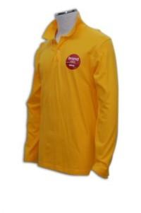 P153反領polo衫訂製 反領polo衫製造商