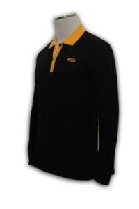 P154 長袖polo恤訂做 長袖polo恤訂製 長袖polo恤印製