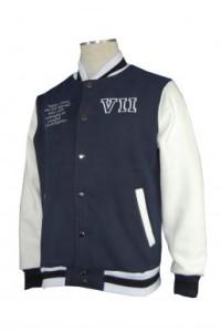Z121 衛衣棒球褸訂造 重工繡花棒球外套 運動棒球外套 棒球外套公司