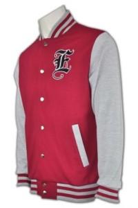 Z206 班衫製造 衛衣外套 度身訂做衛衣 棒球褸訂購