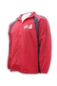 J195 silk screen jackets