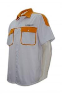 R064 恤衫摺袖 男裝恤衫款式
