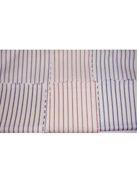 JS-JAMS  60%cotton  40%polyester  80/2*45  恤衫布11  間條