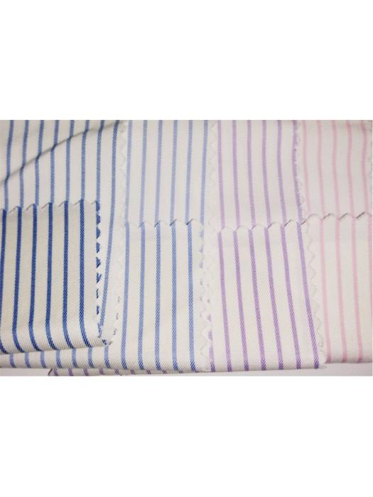 JS-JAMS  60%cotton  40%polyester  80/2*45  恤衫布19  間條