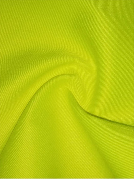 XX-FSSY/YULG  T/C 80/20 hi-vis twill fabric  21S*21S/124*65  230GSM
