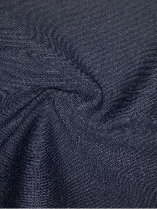 XX-FSSY/YULG  Modacrylic/cotton FR knitted interlock fabric 32S/2*32S/2 240GSM