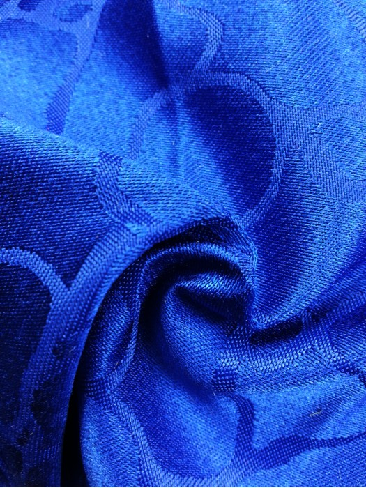 TB-FDN  提花桌布  枱布 100%滌  大理石-寶藍
