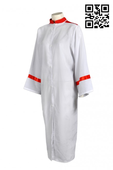 CHR001量身訂做聖詩袍  專業訂購團體聖詩袍  祭典服 聖詩袍制服中心  牧師袍聖詩袍供應商HK
