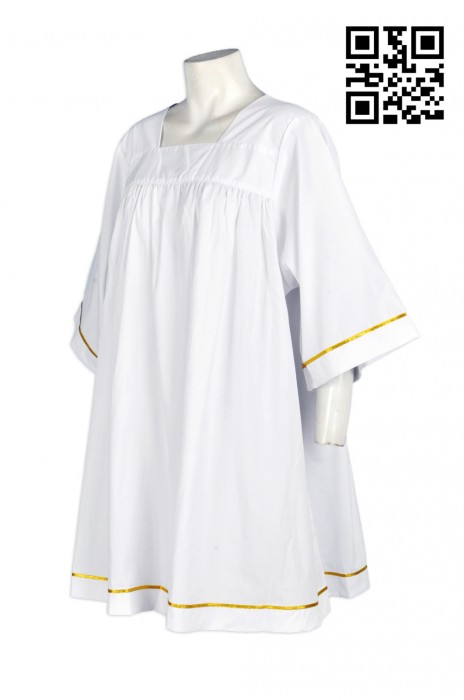 CHR003 童裝聖詩袍 兒童聖詩袍款式 來樣訂製聖詩袍  設計聖詩袍款式  專業訂製聖詩袍  自製職業聖詩袍  訂造聖詩袍供應商HK