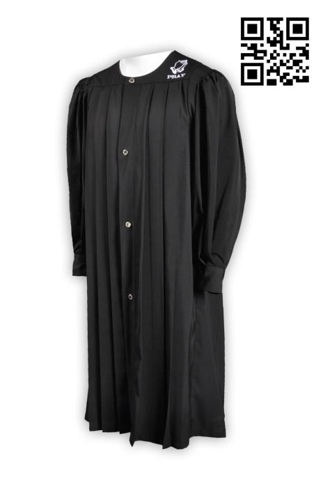 CHR009度身訂造聖詩袍 洗禮袍 製作團體聖詩袍 受洗袍 神父袍 牧師袍 聖詩袍供應商