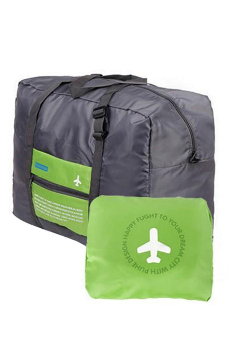 BP-067  製造防水尼龍折叠式旅行收吶包  設計手堤收吶袋 折叠袋行李包 行李包專門店 34.5*46*20CM