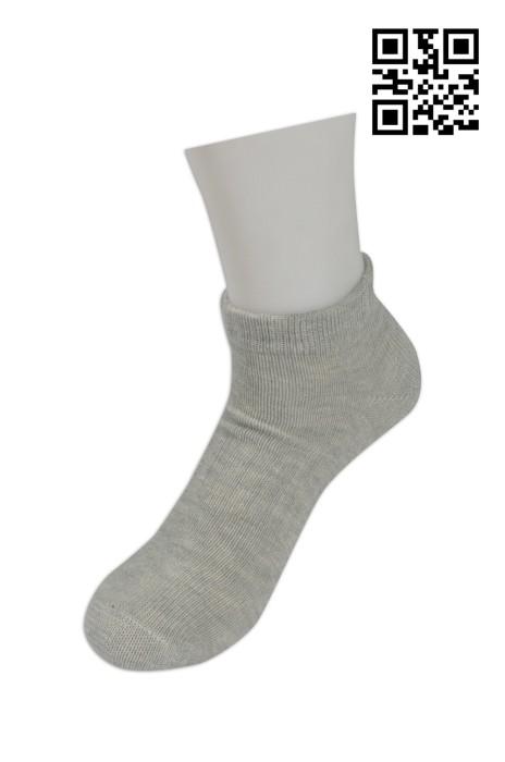 SOC021 純色低筒棉襪 來款訂製 品牌LOGO繡花襪 活動禮品襪子 襪子生產廠家