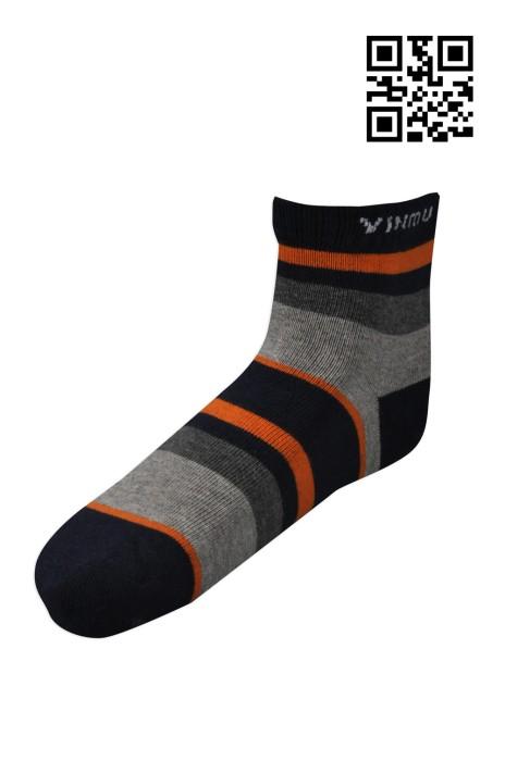 SOC035 製造間條長襪  設計橫間長筒襪  訂造保暖長筒襪  襪子專門店