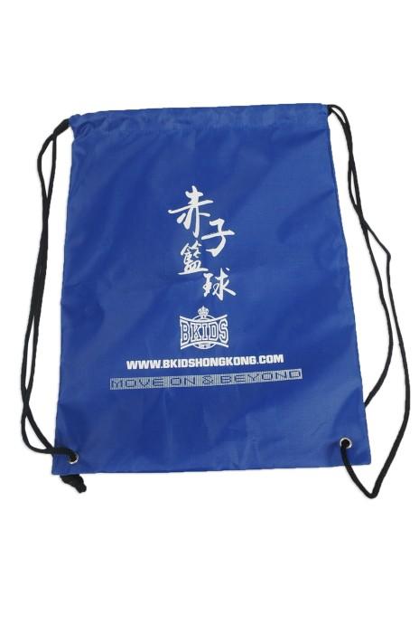 DWG013 設計索繩袋 製作LOGO索繩袋 籃球隊 索繩袋  印製索繩袋供應商