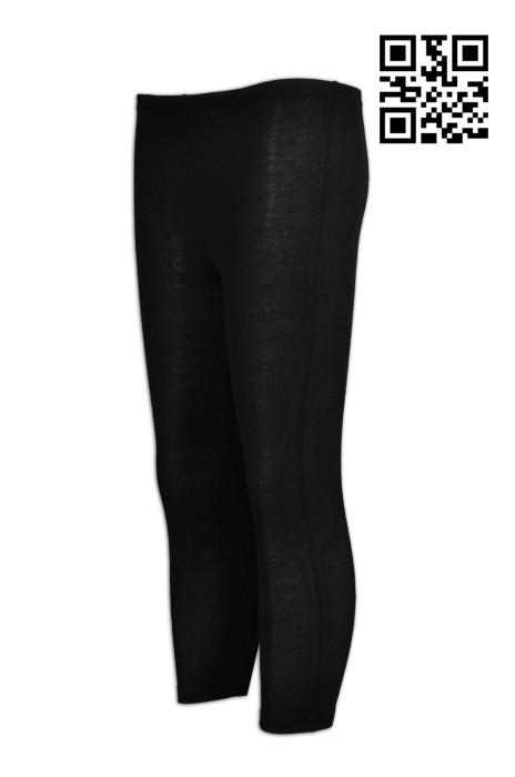 TF038 訂購吸濕排汗運動褲    7分 跑步女裝運動褲 彈力  設計緊身運動褲  供應淨色運動長褲  運動褲專營