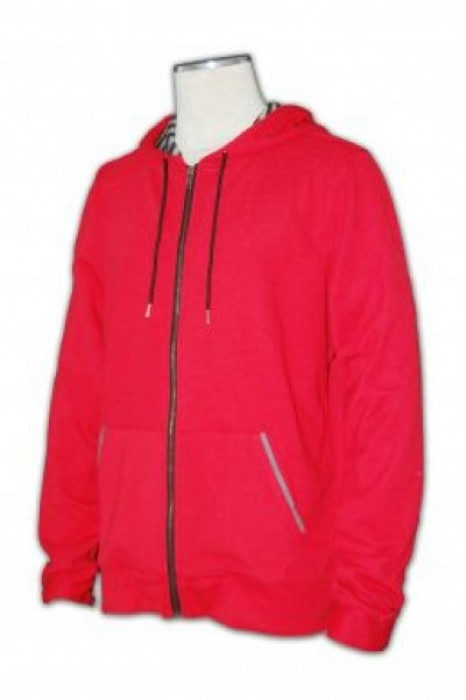 FA005 拉鍊衛衣來版訂做 假兩件帶帽衛衣 衛衣製造商