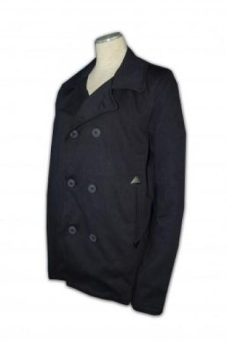 FA006 女裝風衣外套訂做 長款防風外套 女裝外套製造商