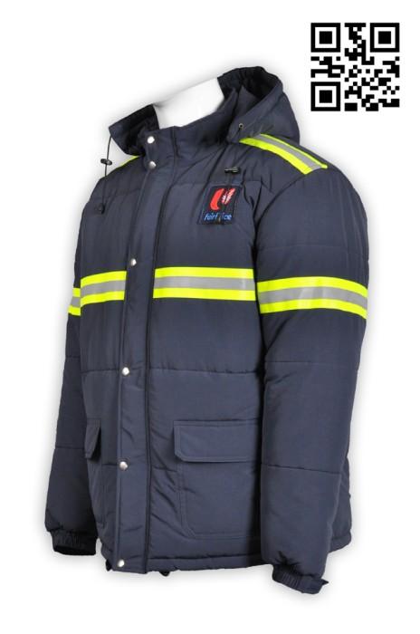 J505反光帶厚外套 網上訂購外套 大量訂做團體外套 外套供應商