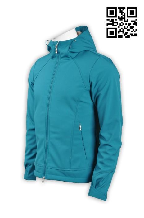 J531訂造淨色夾棉外套  設計時尚男士夾棉外套 複合2合1 防水 保暖 內層絨面 4面彈 外套供應商