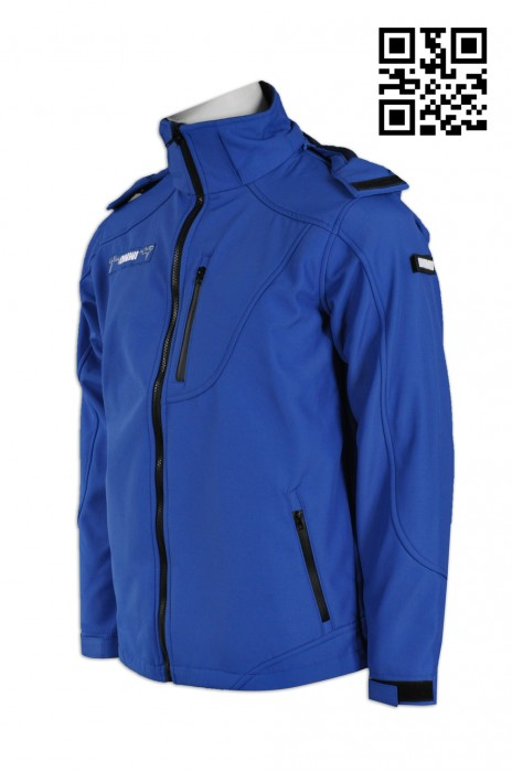 J547個人設計工作外套 大量訂造風褸外套 防水 3合1 熱熔技術 個人設計風褸外套 風褸外套製造商