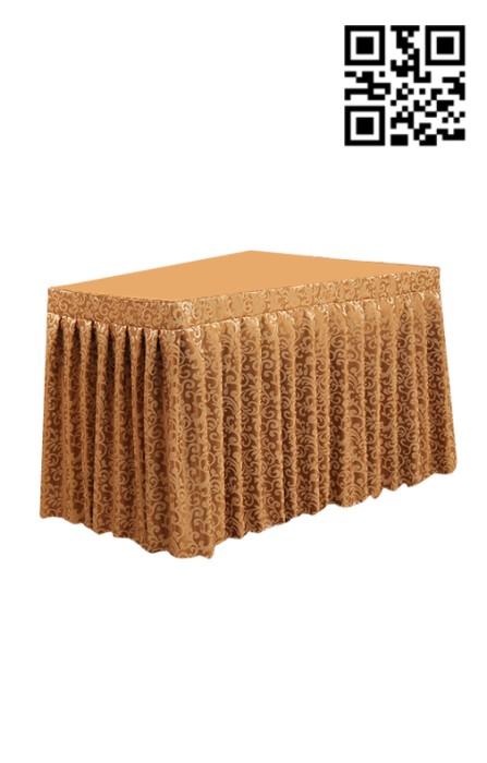 TBC003訂做花紋簽到桌枱布 製作酒店餐廳枱布 檯布 會議台布 長枱布  會議檯布  個人設計枱布 枱布專門店